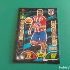 Cromos de Fútbol: 517 DIEGO COSTA (NUEVO SUPER CRACK) - ATLÉTICO MADRID - CROMO ADRENALYN XL 2017-18 - 18/19 . Lote 143737242