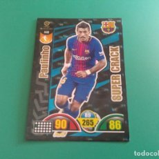Cromos de Fútbol: 448 PAULINHO (SUPER CRACK) - BARCELONA - CROMO ADRENALYN XL 2017-18 - 18/19 . Lote 143737606
