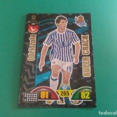 Cromos de Fútbol: 457 ODRIOZOLA (SUPER CRACK) - REAL SOCIEDAD - CROMO ADRENALYN XL 2017-18 - 18/19 . Lote 143737718