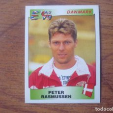 Cromos de Fútbol: CROMO EUROCOPA INGLATERRA 96 PANINI Nº 292 PETER RASMUSSEN (DINAMARCA) EURO 1996 FUTBOL SIN PEGAR. Lote 143738406