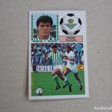 Cromos de Fútbol: ESTE 83 84 PARRA BETIS 1983 1984 NUNCA PEGADO. Lote 143738470