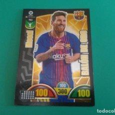 Cromos de Fútbol: 465 MESSI (BALÓN DE ORO) - BARCELONA - CROMO ADRENALYN XL 2017-18 - 18/19 . Lote 143738518