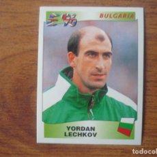 Cromos de Fútbol: CROMO EUROCOPA INGLATERRA 96 PANINI Nº 146 YORDAN LECHKOV (BULGARIA) - EURO 1996 FUTBOL SIN PEGAR. Lote 143738542