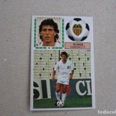 Cromos de Fútbol: ESTE 83 84 FICHAJE Nº 39 ALIAGA VALENCIA 1983 1984 NUNCA PEGADO. Lote 158112116