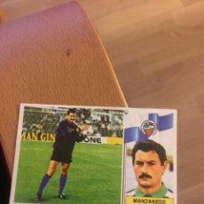 Cromos de Fútbol: ESTE 86 87 1986 1987 SABADELL MANZANEDO. COLOCA DESPEGADO. Lote 143936164