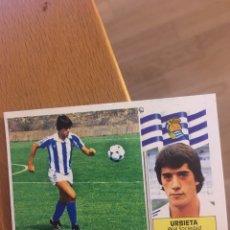 Cromos de Fútbol: ESTE 86 87 1986 1987 URBIETA REAL SOCIEDAD . COLOCA DESPEGADO. Lote 143936468