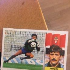 Cromos de Fútbol: ESTE 86 87 1986 1987 AMADOR MURCIA . COLOCA DESPEGADO. Lote 143936565