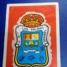 Cromos de Fútbol: CROMO NUNCA PEGADO FUTBOL RUIZ ROMERO CAMPEONATO DE LIGA 1971 Nº121 ESCUDO U.D LAS PALMAS. Lote 288057713