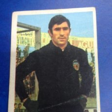 Cromos de Fútbol: CROMO DESPEGADO FUTBOL RUIZ ROMERO CAMPEONATO DE LIGA 1971 Nº62 ABELARDO VALENCIA C DE F. Lote 288057763