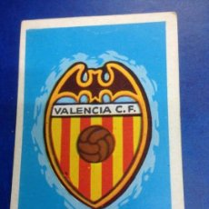 Cromos de Fútbol: CROMO DESPEGADO FUTBOL RUIZ ROMERO CAMPEONATO DE LIGA 1971 Nº61 ESCUDO VALENCIA C DE F. Lote 288057848
