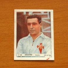 Cromos de Fútbol: CELTA DE VIGO - Nº 80, AGUSTÍN - EDITORIAL BRUGUERA 1943-1944, 43-44 . Lote 144084926
