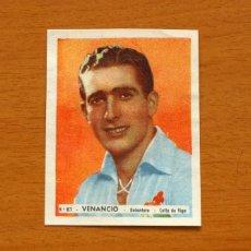 Cromos de Fútbol: CELTA DE VIGO - Nº 81, VENANCIO - EDITORIAL BRUGUERA 1943-1944, 43-44 . Lote 144085014