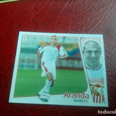 Cromos de Fútbol: ARANDA SEVILLA ED ESTE 04 05 FUTBOL LIGA CROMO 2004 2005 - RECORTADO - 1293. Lote 144085170