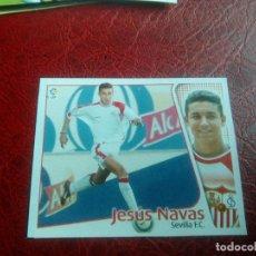 Cromos de Fútbol: JESUS NAVAS SEVILLA ED ESTE 04 05 FUTBOL LIGA CROMO 2004 2005 - RECORTADO - 1294 COLOCA. Lote 144085278