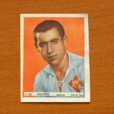 Cromos de Fútbol: CELTA DE VIGO - Nº 82, PAHIÑO - EDITORIAL BRUGUERA 1943-1944, 43-44 - NUNCA PEGADO. Lote 144085326
