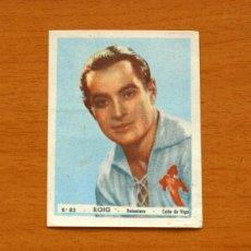 Cromos de Fútbol: CELTA DE VIGO - Nº 83, ROIG - EDITORIAL BRUGUERA 1943-1944, 43-44 - NUNCA PEGADO. Lote 144085458