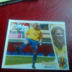 Cromos de Fútbol: FORLAN VILLARREAL ED ESTE 04 05 FUTBOL LIGA CROMO 2004 2005 - RECORTADO - 1296 FICHAJE 37. Lote 144085514