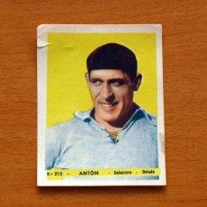 Cromos de Fútbol: OVIEDO - Nº 215, ANTÓN - EDITORIAL BRUGUERA 1943-1944, 43-44. Lote 144085786