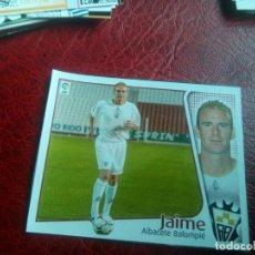 Cromos de Fútbol: JAIME ALBACETE ED ESTE 04 05 FUTBOL LIGA CROMO 2004 2005 - RECORTADO - 1299 FICHAJE 40. Lote 144085882