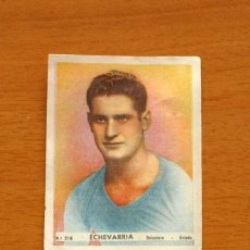Cromos de Fútbol: OVIEDO - Nº 218, ECHEVARRIA - EDITORIAL BRUGUERA 1943-1944, 43-44. Lote 144085886