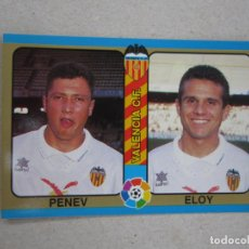 Cromos de Futebol: MUNDICROMO FUTBOL TOTAL LIGA 95 94 Nº 62 PENEV ELOY VALENCIA 1994 1995 NUEVO. Lote 253140605