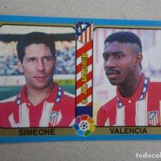 Cromos de Futebol: MUNDICROMO FUTBOL TOTAL LIGA 95 94 Nº 106 SIMEONE VALENCIA ATLETICO MADRID 1994 1995 NUEVO. Lote 253143495