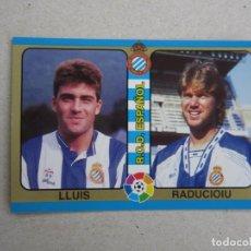 Cromos de Futebol: MUNDICROMO FUTBOL TOTAL LIGA 95 94 Nº 160 LLUIS RADUCIOIU ESPAÑOL 1994 1995 NUEVO. Lote 253140770