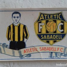 Cromos de Fútbol: CROMO FUTBOL CHOCOLATES AMATLLER 1929. ATLETIC SABADELL F. C. Nº 21. Lote 144276758