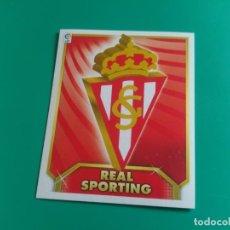 Cromos de Fútbol: ESCUDO - SPORTING GIJÓN - CROMO EDICIONES ESTE 2011-12 - 11/12 (NUEVO). Lote 195554526