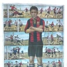 Cromos de Fútbol: HOJA 18 CROMOS CLEMENTE GRACIA FC BARCELONA AÑO 1921, CHOCOLATE JAIME BOIX ENSEÑANZA DEL FOOT BALL. Lote 144690494
