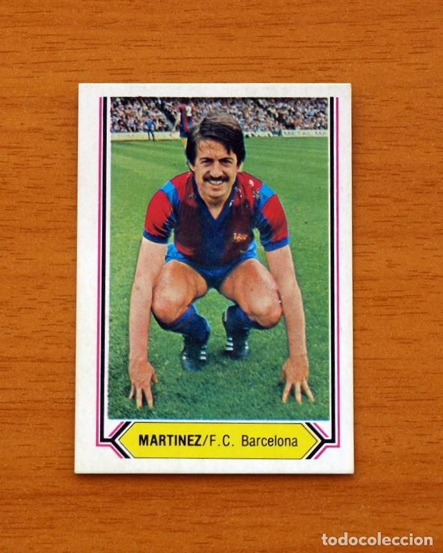 BARCELONA - MARTÍNEZ - LIGA 1980-1981, 80-81 - EDICIONES ESTE (Coleccionismo Deportivo - Álbumes y Cromos de Deportes - Cromos de Fútbol)