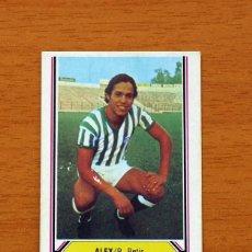 Cromos de Fútbol: BETIS - ALEX - LIGA 1980-1981, 80-81 - EDICIONES ESTE . Lote 144926074