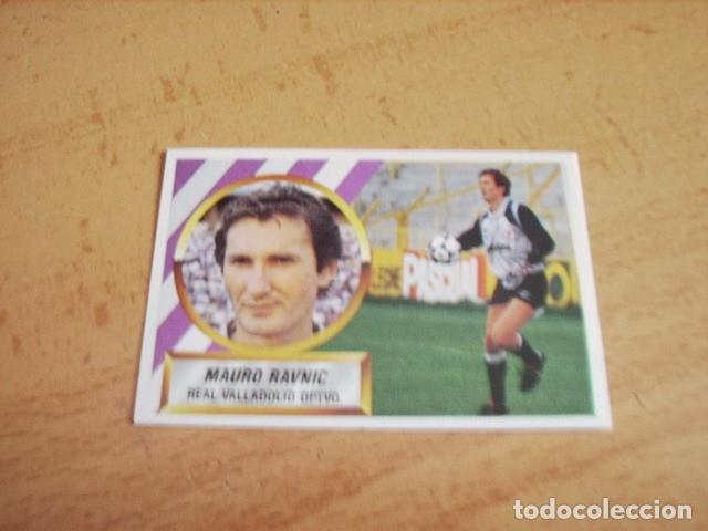 ED. ESTE 88-89 MAURO RAVNIC VALLADOLID MUY DIFICIL NUEVO DE SOBRE (Coleccionismo Deportivo - Álbumes y Cromos de Deportes - Cromos de Fútbol)