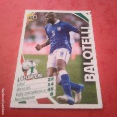 Cromos de Fútbol: JAS BALOTELLI DELANTERO ITALIA SELECCIÓN ITALIANA COLECCIÓN DE CROMOS JAS JUGÓN ALL STARS. Lote 144962126
