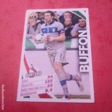 Cromos de Fútbol: JAS BUFFON PORTERO ITALIA SELECCIÓN ITALIANA COLECCIÓN DE CROMOS JAS JUGÓN ALL STARS. Lote 144962262