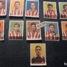 Cromos de Fútbol: ATLETICODE MADRID - 11 CROMOS EQUIPO COMPLETO AÑOS 50 COLECCION HISPANO AMERICANA . Lote 145055850