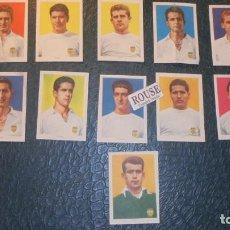 Cromos de Fútbol: VALENCIA F.C. - 11 CROMOS EQUIPO COMPLETO AÑOS 50 COLECCION HISPANO AMERICANA . Lote 145057234