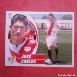 Nº 9 JOSÉ CARLOS RAYO VALLECANO 2012 2013 LIGA BBVA 12-13 COLECCIONES ESTE PANINI SIN PEGAR