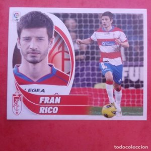 Nº 11 FRAN RICO GRANADA C.F. 2012 2013 LIGA BBVA 12-13 COLECCIONES ESTE PANINI SIN PEGAR