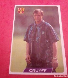 56 CRUYFF F.C. BARCELONA CROMOS ALBUM MUNDICROMO FICHAS FUTBOL LIGA 1995 1996 95 96 TEMPORADA 94/95