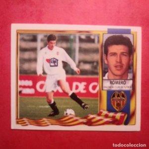 VALENCIA - ROMERO - EDICIONES ESTE 1995-1996, 95-96 - NUNCA PEGADO