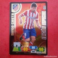 Cromos de Fútbol: EDICIÓN ESPECIAL DIEGO COSTA ATLÉTICO DE MADRID LFP ADRENALYN 2013 2014 13 14 PANINI. Lote 145235002
