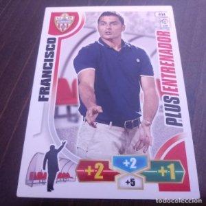 494 FRANCISCO ALMERIA PLUS ENTRENADOR LFP ADRENALYN XL 2013 2014 13 14 PANINI TRADING CARD GAME