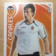 Cromos de Fútbol: 2011-2012 - 318 CANALES - VALENCIA CF - PANINI ADRENALYN XL. Lote 145270182