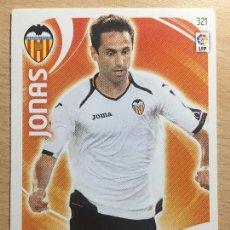 Cromos de Fútbol: 2011-2012 - 321 JONAS - VALENCIA CF - PANINI ADRENALYN XL. Lote 145270318