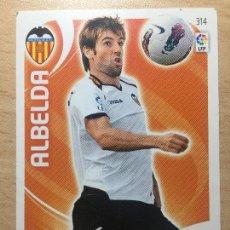 Cromos de Fútbol: 2011-2012 - 314 ALBELDA - VALENCIA CF - PANINI ADRENALYN XL. Lote 145270446