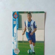 Cromos de Fútbol: Nº 112 BIS LACRUZ (ESPANYOL) - CROMO DE FUTBOL PANINI MEGACRACKS 2006-2007 MGK LIGA 06-07. Lote 145293018