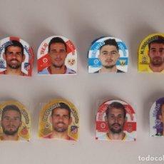 Cromos de Fútbol: 8 GREFUFICHAS, 2018 2019. DIEGO COSTA, TREJO, STUANI, SERANTES, PORTU MASIP Y TRIGUEROS. Lote 140781810