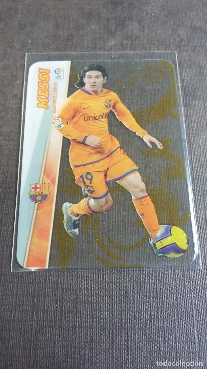 MEGACRACKS 2008 2009 08 09 - PANINI - 384 MESSI ( ULTRACARD ) - FC. BARCELONA - (Coleccionismo Deportivo - Álbumes y Cromos de Deportes - Cromos de Fútbol)