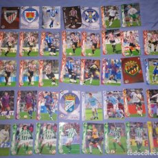 Cromos de Fútbol: LOTE 39 CROMOS PANINI FUTBOL LIGA BBVA MEGA CRACKS 2006-07 06-2007. Lote 145435774